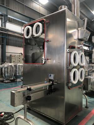 Standard Group Bottle filling machine barrier isolator