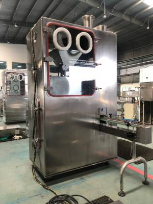 Standard Group Bottle filling machine barrier isolator 2