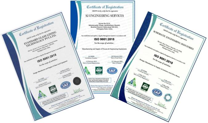 Standard Group ISO9001 certificate image
