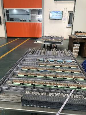 Standard group control panel manufacture 1