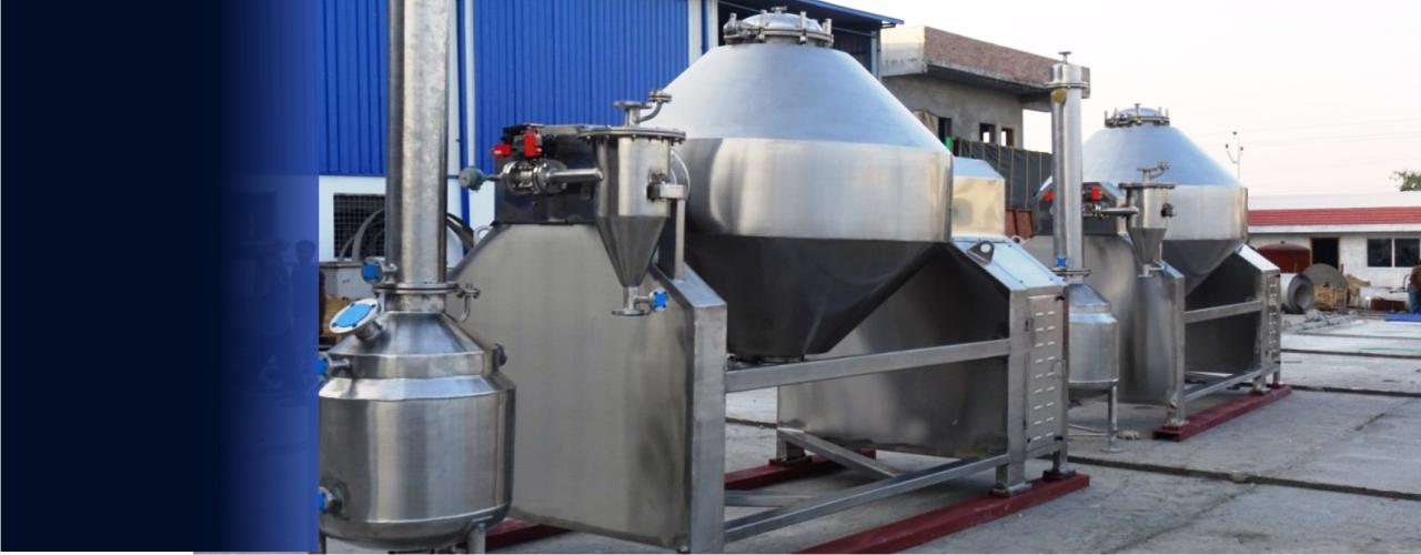 Rotary Cone Vacuum Dryers